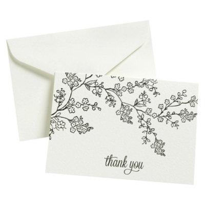 Gartner Studios Thank You - 50 Ct FLP Blk Line Floral