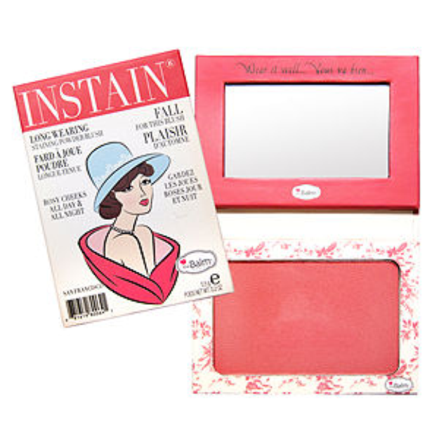 theBalm INSTAIN® Long-Wearing Powder Staining Blush