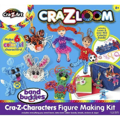 Cra-Z-Art Cra-Z-Loom 3D Figure Making Kit