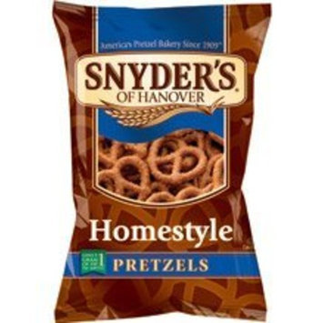 Snyder's of Hanover Homestyle Pretzels, 9.0-Oz Bags (Pack of 12)