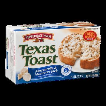 Pepperidge Farm Texas Toast Mozzarella & Monterey Jack - 6 CT