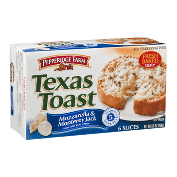Pepperidge Farm Texas Toast Mozzarella & Monterey Jack - 6 CT