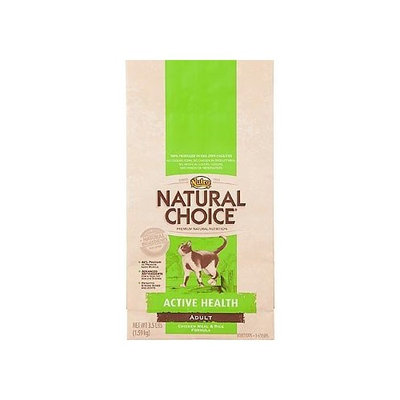Natural Choice Cat Natural Choice Chicken Meal and Rice Formula Active Health Adult Cat Food, 7-Pound