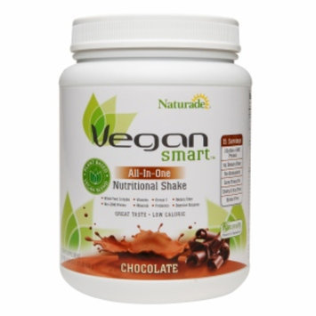 Naturade Vegan Smart All-In-One Nutritional Shake, Chocolate, 1.52 lb
