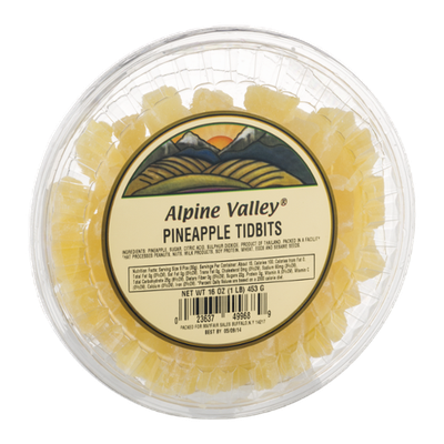Alpine Valley Pineapple Tidbits