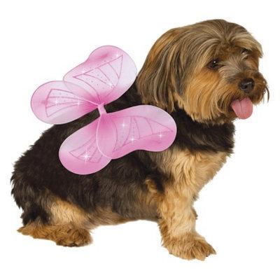 Rubie's Fairy Wings Pet Costume - Pink (S/M)