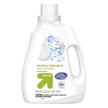up & up Free & Clear Liquid Laundry Detergent 100 oz