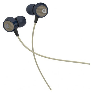 Audiofly AF56 In-Ear Headphone with Mic - Blue Tweed