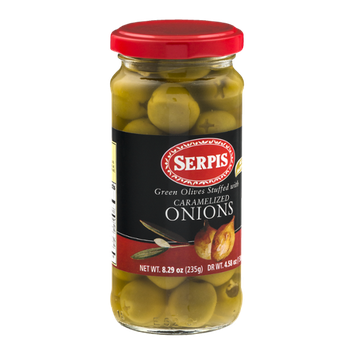 Serpis Green Olives Suffed With Caramelized Onions