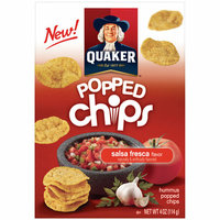 Quaker® Popped Chips Salsa Fresca Flavor Hummus Popped Chips