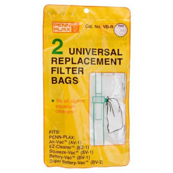 Replacement Bags for Penn Plax Battery Vacs - 2 pk.