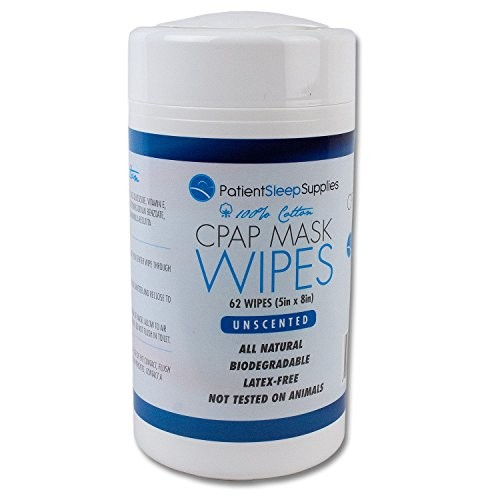 Patient Sleep Supplies CPAP Mask Wipes []