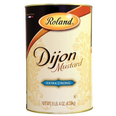 Roland Dijon Mustard from France, 9.25-Pound Can