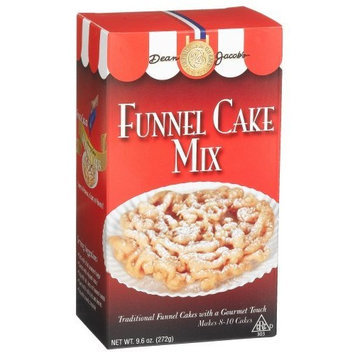 Dean Jacob's Dean Jacobs Funnel Cake Mix, 9.6-Ounce Boxes (Pack of 6)