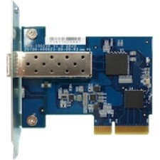 QNAP Single-port 10 Gigabit SFP+ Network Expansion Card for Tower Models - PCI Express 2.0 x4 - 1 Port(s) - Optical Fiber