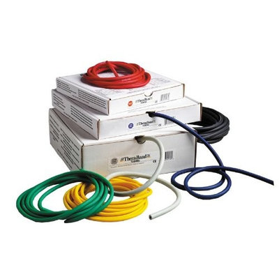Theraband Thera-Band 25-Feet Dispenser Box Exercise Tubing
