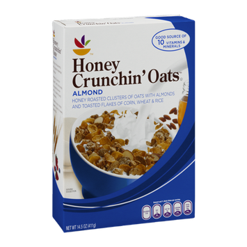 Ahold Honey Crunchin' Oats Cereal Almond