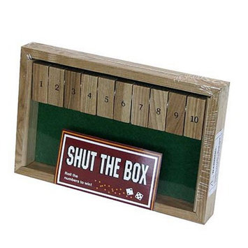 Shut The Box # 1 Game Ages 8+