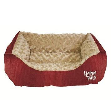 Happy Tails Corduroy Cuddler Dog Bed - 17L x 20W in.