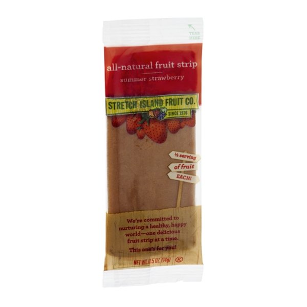 Stretch Island Fruit Co. Fruit Strip All-Natural Summer Strawberry