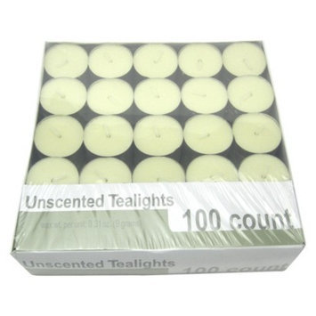 Room Essentials Ivory Unscented Tealights, 100ct