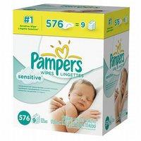 Pampers Sensitive Baby Wipes Refills Sensitive 9 Pack