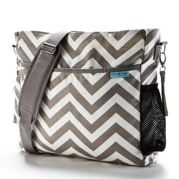 Baby K'tan SmartGear Diaper Bag - Grey Chevron