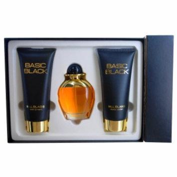 Bill Blass Basic Black Gift Set 3 Piece, 1 set