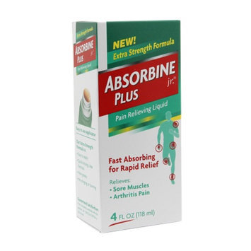 Absorbine Jr Pain Relieving Liquid, 4 fl oz
