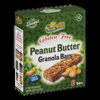 Sam Mills Gluten Free Granola Bars Peanut Butter - 5 CT