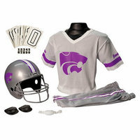 Franklin Sports Kansas St. Helmet/Jersey set- OSFM ages 5-9