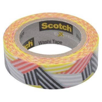 Scotch Washi Tape Zig Zag 10mX15mm