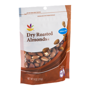 Ahold Dry Roasted Almonds Unsalted