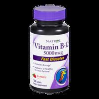 Natrol Vitamin B-12 5000mcg Tablets Strawberry Flavor - 100 CT
