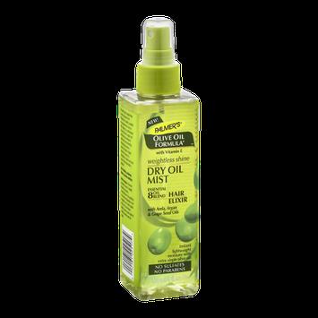 Palmer's Weightless Shine Dry Oil Mist Hair Elixir Olive Oil Formula