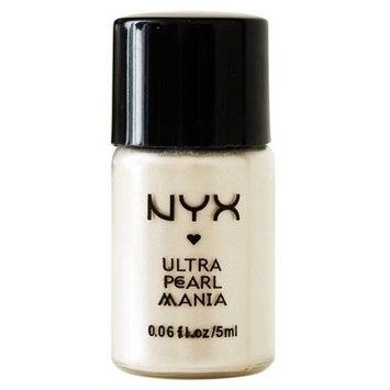 Mad4cosmetics NYX Loose Pearl Eye Shadow, White Pearl, 0.192 Ounce