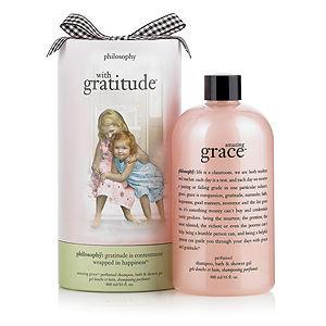 philosophy with gratitude