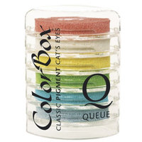 Notions Marketing Cat's Eye Queue Pigment 6-Color Ink Pad - B