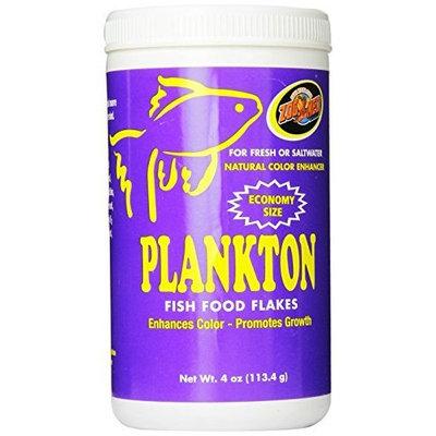 Zoo Med Laboratories AZMAFP4 Aquatrol Plankton Flake, 4-Ounce