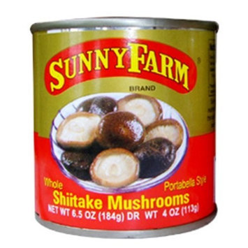 Sunny Farms Whole Shiitake Mushrooms