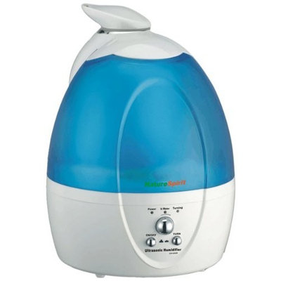 SIMPRO Premier Sales NatureSpirit Ultrasonic Humidifier with Unique Self Rotating Spay Head, 6 Pound
