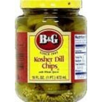 B G B&G Hamburger Dill Pickle Chips 16 oz. (Pack of 3)