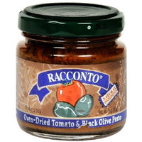 Racconto Pesto, Oven Dried Tomato Black Olive, 3-Ounce Packages (Pack of 6)