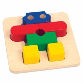 Guidecraft Primary Puzzle Robot, Multi, 1 ea