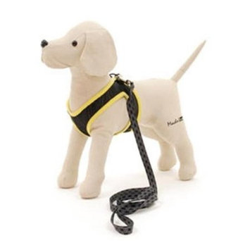 EGR AISS XS-S YE Xsmall- Small Harness and Leash- Yellow