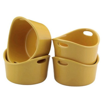 Rachael Ray Round Ramekins - Yellow (Set of 4)