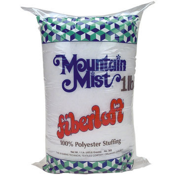 Mountain Mist Fiber Fiberloft Polyester Stuffing 3Lb Brick