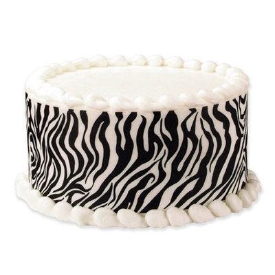 Luck's Lucks Edible Image Tall Designer Prints Zebra, 36-Pack
