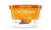 Chobani® Blended® Pumpkin Spice Low-Fat Greek Yogurt