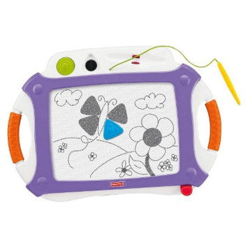Fisher-Price Doodle Pro Classic with 2 Stampers - Purple